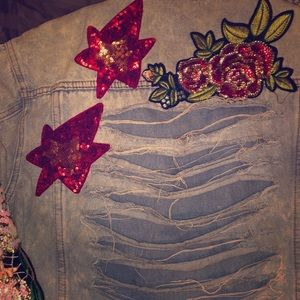 Jean jacket with detail